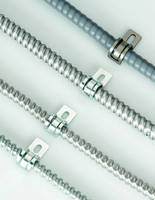 Universal Straps support multiple cable sizes.