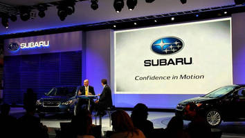 Subaru Shows the Way to 3D LED Display at New York Auto Show 2011