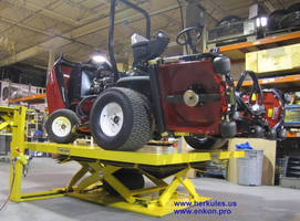EnKon's Heavy Duty Lifts Solve Ergonomic Problem for Commercial Tractor Company
