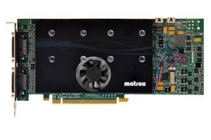 Matrox and Trenton Partner to Provide Integrated Hardware Systems for Video Walls