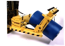 Drum Dumper handles more than a ton.