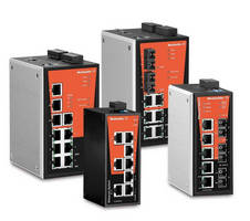 New Industrial Ethernet Switches from Weidmuller Offer Extended Operating Temperatures and Worldwide Approvals