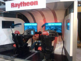 Raytheon Unveils Walk-in Flight Simulator Using 4D Technology at Paris Air Show