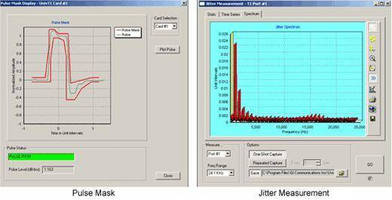 GL Announces Enhanced T1 E1 Jitter and Pulse Mask Measurement Solutions