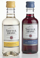 Sutter Home's Market Leadership in 187-ml Wines Is Aided by Lightweight PET Bottles