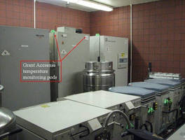 Monitoring the Temperature of Cryogenic Freezers