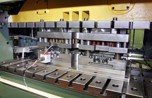 High-speed Press with Twin Servo Drives Can Accommodate Two Tools, Side-by-Side or in-Line