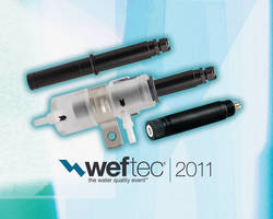 Sensorex to Feature Economical S8000 pH/ORP System and More at WEFTEC 2011