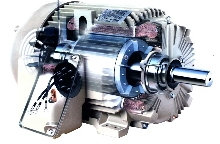 Severe Duty Motor produces low vibration.