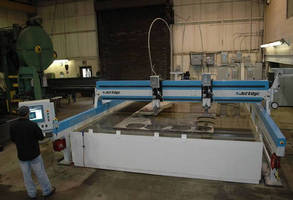 China Steel of Sault Ste. Marie, Ontario Installs Massive 24'x13' 90KSI Jet Edge Waterjet Cutting Machine