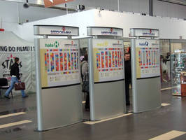 """Vista System Complete Wayfinding Solution Was Recently Installed at """"CHT MARYWILSKA 44/Warszawa"""", One of the Biggest Shopping Centers in Warsaw, Poland."""