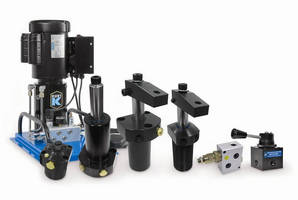 Kurt Introduces a Wide Range of Hydraulic Swing Clamps, Valves and Pumps - They Position and Clamp Workpieces and Pumps - They Position and Clamp Workpieces