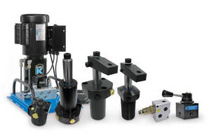 Kurt Introduces a Wide Range of Hydraulic Swing Clamps, Valves and Pumps - They Position and Clamp Workpieces for High Precision Machining Repeatability