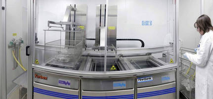 Compact, Aqueous Cleaning Line Suits Energy System Manufacturer