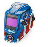 Get a Taste of Superhero Action with a Captain America(TM) Auto-Darkening Helmet