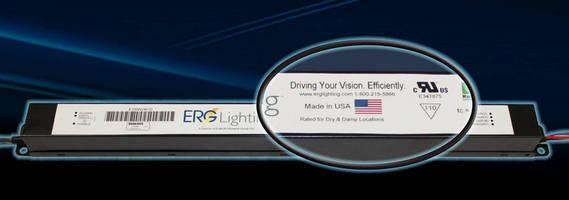 ERG Lighting Awarded UL Recognition for E100W24V-D LED Driver Module