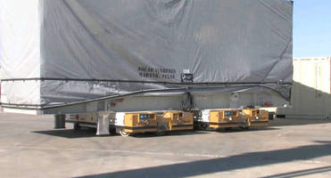 Self-Propelled Transporter Slashes Turbine Manufacturing Costs