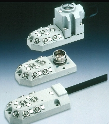 Sensor Box Line is available in 3- or 4-pole versions.