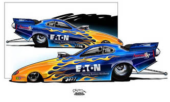 Eaton Products to Power Todd Robertson in NHRA's Top Alcohol Funny Car Series