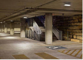 Cooper Lighting LED Products Significantly Reduce Energy Consumption and Cost at Austin's City Hall Parking Garage
