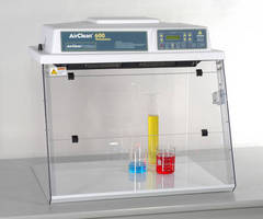 AirClean Systems AC600 Series Chemical Workstations Offer Flexibility and Mobility for Today's Ever Changing Laboratory Environment