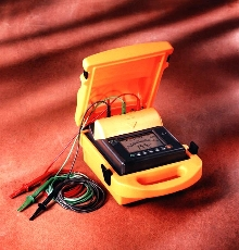 Ohm Meter tests insulation resistance.