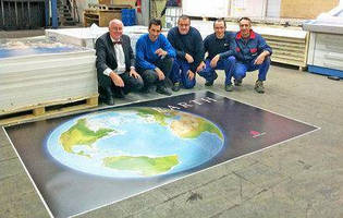 KBA Rapida 205 at Litorama Prints Earth Platinum