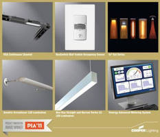 Six Cooper Lighting and Cooper Controls Products Honored in Architectural Products Inaugural Product Innovation Awards
