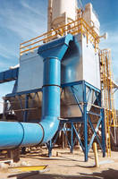 Pulse Jet Dust Collector Handles Heavy Loading from Sand and Aggregate Fluid Bed Dryer