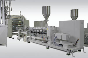 Sleek Design and High Outputs for Sheet Extrusion