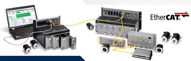 ACS Motion Control Expands EtherCAT-Based Product Offering to Deliver Complete and Flexible EtherCAT Control Solutions