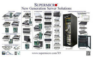 Supermicro® Launches 100+ New Generation Server Solutions Supporting Intel® Xeon® Processor E5-2600/1600 Families