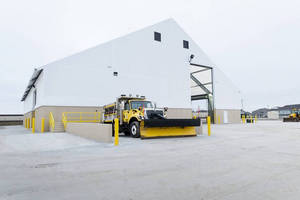 INDOT Enhances Winter Road Maintenance Operations with Salt Storage Structures from Legacy Building Solutions