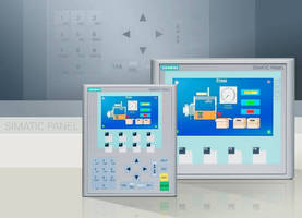 "High-Resolution, 4"" Widescreen Color Panels Complete with Profinet Interface"