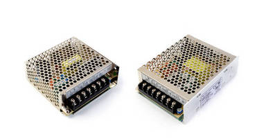 CUI Introduces 30 and 60 W Dual Output Industrial Power Supplies