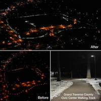 Cooper Lighting's LED Solutions Shine a Light on Cost Savings at Grand Traverse County Civic Center Walking Track