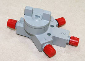 Canyon Engineering Products Has Developed a Line of Manual Rotary Select Valves