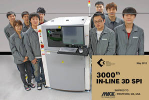 Koh Young Announces Delivery of 3000th SPI System