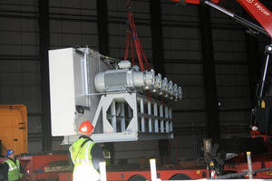 Moog Wins Contract to Supply Narec with a Test System to Evaluate 100 M Wind Turbine Blades
