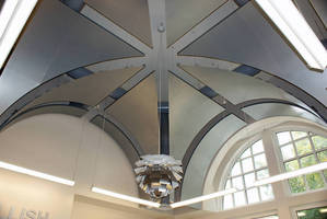 Chicago Metallic Corporation Creates Unique, Award-Winning, Vaulted Metal Ceiling for Winthrop University's Carroll Hall
