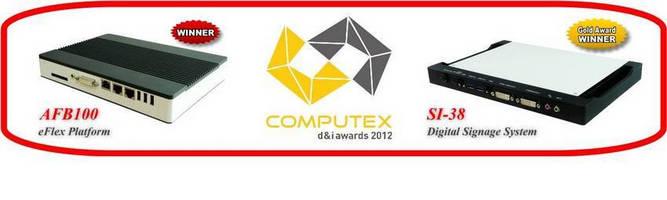 IBASE Digital Signage and eFlex Systems Won 2012 Computex d&i Awards