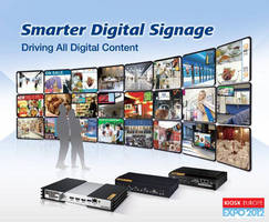 Advantech and Stinova at Kiosk Europe Expo 2012: Smarter Digital Signage Driving All Digital Content