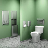 Bradley's Diplomat Washroom Accessories Series Receives 2012 Award for Design Excellence