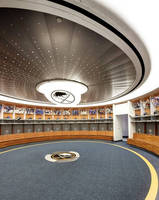 Buffalo Sabres Hockey Team Counts on Chicago Metallic to Create a Custom Ceiling