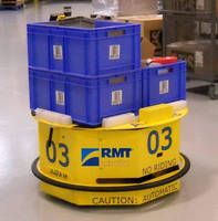 RMT Robotics Celebrates Seven Years of ADAM(TM) Mobile Robot Success in Tire Handling