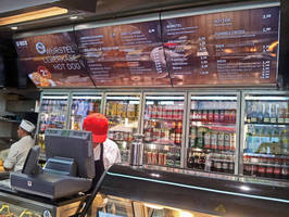 Vista System's Elegant Menu Boards Were Selected for a Leading Fast Food Chain in Austria