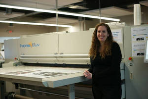 Screen Truepress Jet2500UV Opens up New Business Opportunities at Franklin Imaging