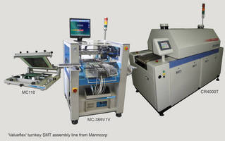 Full Smt Assembly in Limited Production Spaces with Valueflex Line from Manncorp