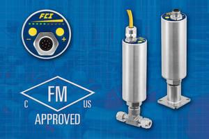 FS10A Analyzer Flow Switch/Monitor Receives FM & FMc (Canadian) Approvals