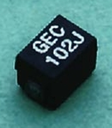 RF Inductors withstand shear test to 4.4 lbs.